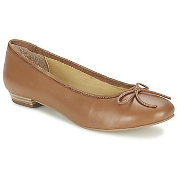 kengät Naiset Balleriinat Balsamik ALVES largeur normale CAMEL