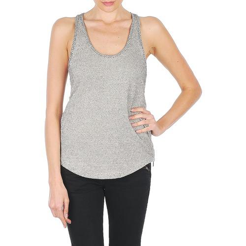 vaatteet Naiset Hihattomat paidat / Hihattomat t-paidat Stella Forest YDE019 Ecru