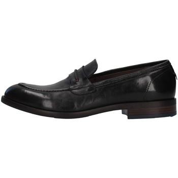 kengät Miehet Mokkasiinit Re Blu' 7766 BLACK