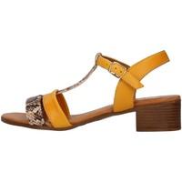 kengät Naiset Sandaalit ja avokkaat Melluso 018826 YELLOW