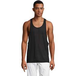 vaatteet Miehet Hihattomat paidat / Hihattomat t-paidat Sols Jamaica camiseta sin mangas Negro