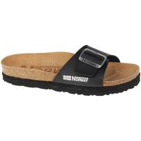 kengät Naiset Sandaalit Geographical Norway Sandalias Bios Pala Hebilla Noir