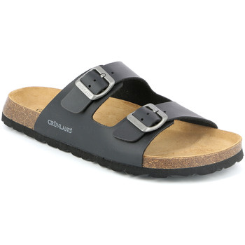 kengät Miehet Sandaalit Grunland CB3013 Musta