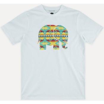 vaatteet Miehet Lyhythihainen t-paita Trendsplant NAVAJO 029940MNAV Valkoinen