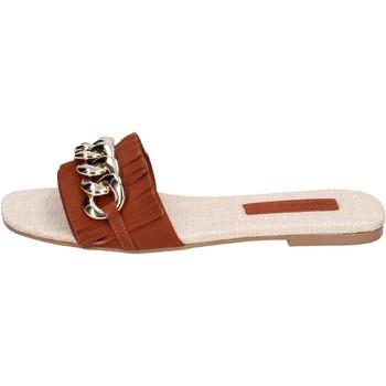 kengät Naiset Sandaalit Miss Unique BH145 Ruskea