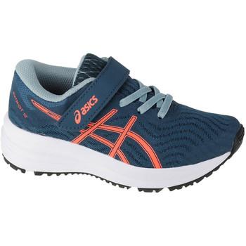 kengät Lapset Juoksukengät / Trail-kengät Asics Patriot 12 PS Bleu