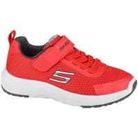 kengät Lapset Matalavartiset tennarit Skechers Dynamic Tread Punainen