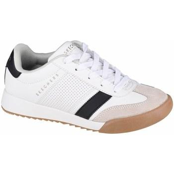 kengät Lapset Matalavartiset tennarit Skechers Zinger Valkoiset