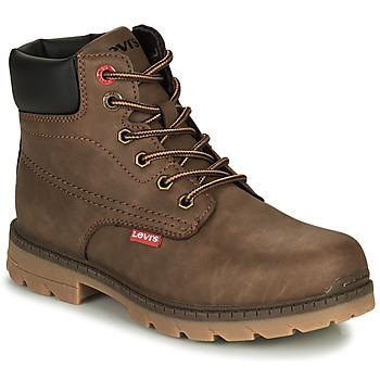 kengät Lapset Bootsit Levi's NEW FORREST Ruskea