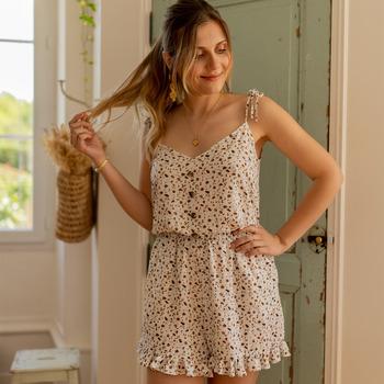 vaatteet Naiset Jumpsuits / Haalarit Céleste NEROLI Vaalea