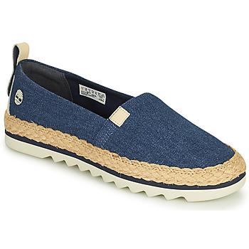 kengät Naiset Espadrillot Timberland Barcelona Bay Classic Textile Sininen