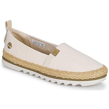 kengät Naiset Espadrillot Timberland Barcelona Bay EK+ Classic Textile Beige