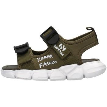 kengät Pojat Sandaalit ja avokkaat Superga S83T248 GREEN