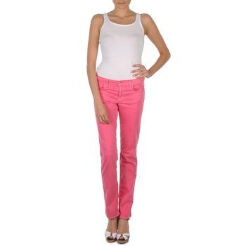 vaatteet Naiset 5-taskuiset housut Gant DANA SPRAY COLORED DENIM PANTS Pink