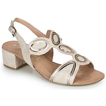 kengät Naiset Sandaalit ja avokkaat Marco Tozzi  Vaaleanpunainen