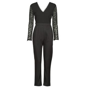 vaatteet Naiset Jumpsuits / Haalarit Betty London PARILLO Musta