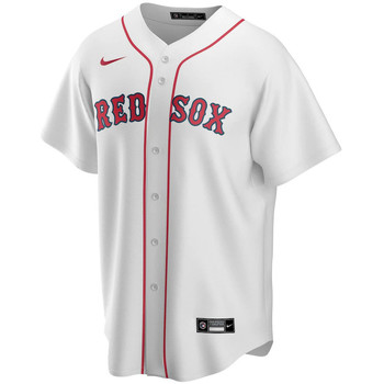 vaatteet Miehet Lyhythihainen t-paita Nike Maillot Official Replica Boston Red Sox blanc/rouge
