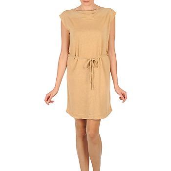 vaatteet Naiset Lyhyt mekko Majestic CAMELIA Beige