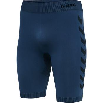 vaatteet Miehet Shortsit / Bermuda-shortsit Hummel Short de compression  hmlfirst training bleu marine
