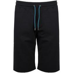vaatteet Miehet Shortsit / Bermuda-shortsit Bikkembergs  Musta