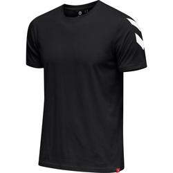 vaatteet Miehet Lyhythihainen t-paita Hummel T-shirt  hmlLEGACY chevron noir