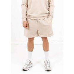 vaatteet Miehet Shortsit / Bermuda-shortsit Sixth June Short  signature velvet logo beige