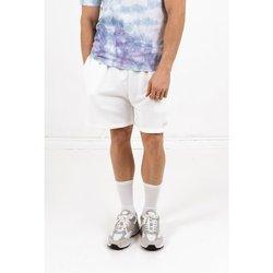 vaatteet Miehet Shortsit / Bermuda-shortsit Sixth June Short  signature velvet logo blanc