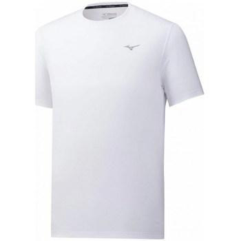 vaatteet Miehet Lyhythihainen t-paita Mizuno Impulse Core Tee Valkoiset