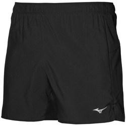 vaatteet Naiset Shortsit / Bermuda-shortsit Mizuno Core 55 Mustat