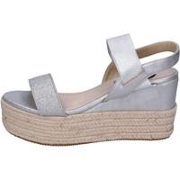 kengät Naiset Sandaalit ja avokkaat Energy BH199 Hopea