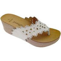 kengät Naiset Varvassandaalit De Fonseca DEFONSANTAFEbia bianco
