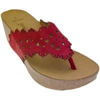 kengät Naiset Varvassandaalit De Fonseca DEFONSANTAFEros rosso