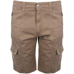vaatteet Miehet Shortsit / Bermuda-shortsit Bikkembergs  Ruskea