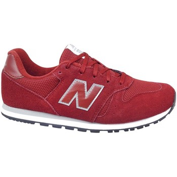 kengät Lapset Matalavartiset tennarit New Balance KJ373BUY Punainen