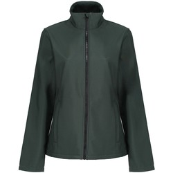 vaatteet Naiset Pusakka Regatta TRA629 Dark Spruce/Black