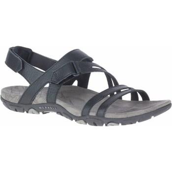 kengät Naiset Sandaalit ja avokkaat Merrell Sandspur Rose Convert Mustat