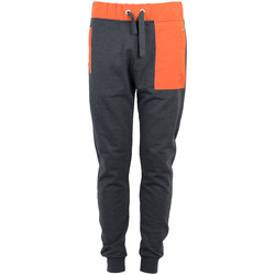vaatteet Miehet Verryttelyhousut Bikkembergs  Oranssi