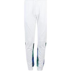vaatteet Miehet Verryttelyhousut Bikkembergs  Valkoinen