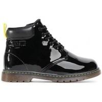 kengät Lapset Bootsit Big Star GG374075 Mustat