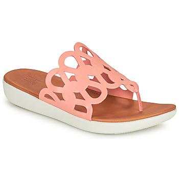 kengät Naiset Varvassandaalit FitFlop ELODIE Vaaleanpunainen