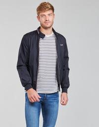 vaatteet Miehet Pusakka Schott CABLS21R Laivastonsininen