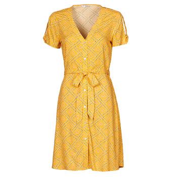 vaatteet Naiset Lyhyt mekko Only ONLVIOLETTE Oranssi