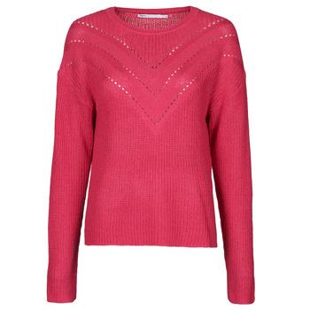 vaatteet Naiset Neulepusero Only ONLTRIXIE Vaaleanpunainen