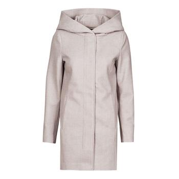 vaatteet Naiset Paksu takki Vero Moda VMDAFNEDORA Beige