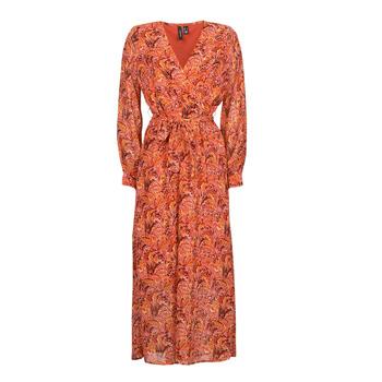 vaatteet Naiset Pitkä mekko Vero Moda VMFLOW Punainen