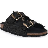 kengät Naiset Sandaalit Grunland NERO 40 SARA Nero