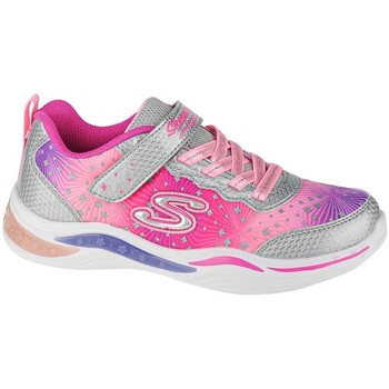 kengät Tytöt Matalavartiset tennarit Skechers Power Petalspainted Daisy Vaaleanpunaiset
