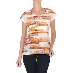 vaatteet Naiset Lyhythihainen t-paita TBS JINTEE White