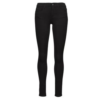 vaatteet Naiset Slim-farkut Only ONLROYAL Musta