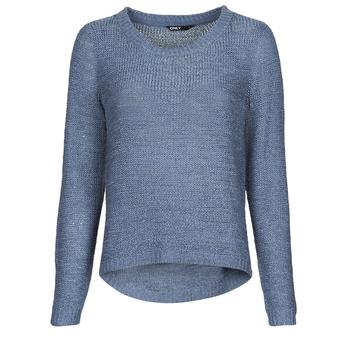 vaatteet Naiset Neulepusero Only ONLGEENA Sininen